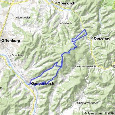 Von Gengenbach über Kornebene nach Steinenbach und zurück CLONED FROM ROUTE 799850