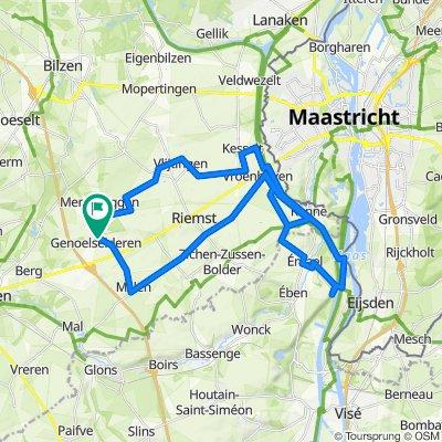 Blokjestraining W / 50km / 3xSlingerberg