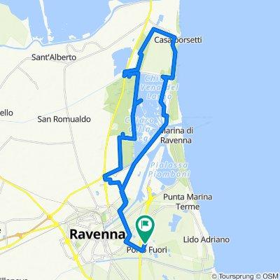 Da Via E. Conci 44, Porto Fuori a Via E. Conci 44, Porto Fuori
