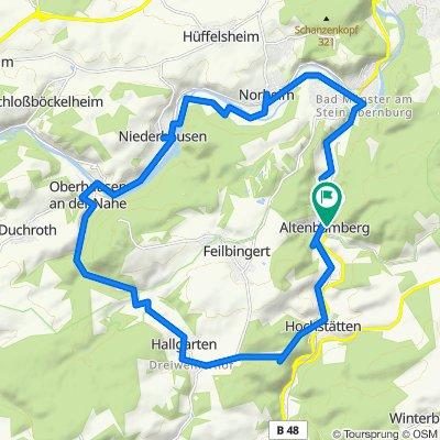 Am Schlossberg 12B, Altenbamberg nach Am Schlossberg 12, Altenbamberg