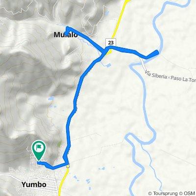 De Carrera 8 Norte #5-74, Yumbo a Carrera 8 Norte #5-74, Yumbo