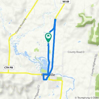 1019 River St, Belleville to 1019 River St, Belleville