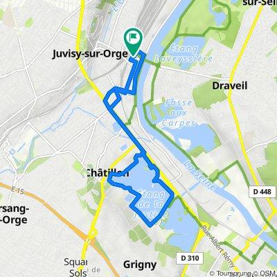 De 9 Rue George Sand, Juvisy-sur-Orge à 12 Rue Danton, Juvisy-sur-Orge