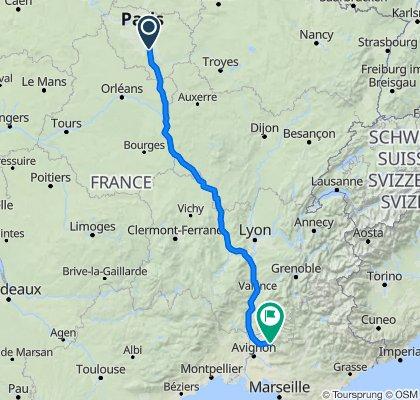 De 100 Route de Morsang, Nandy à 20 Rue de la Berque, Bédoin