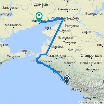 vАдлер-Мариуполь_840 veloradar.ru/map/?track_id=ohqqlq