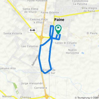 De San Vicente 285, Paine a San Vicente 290, Paine