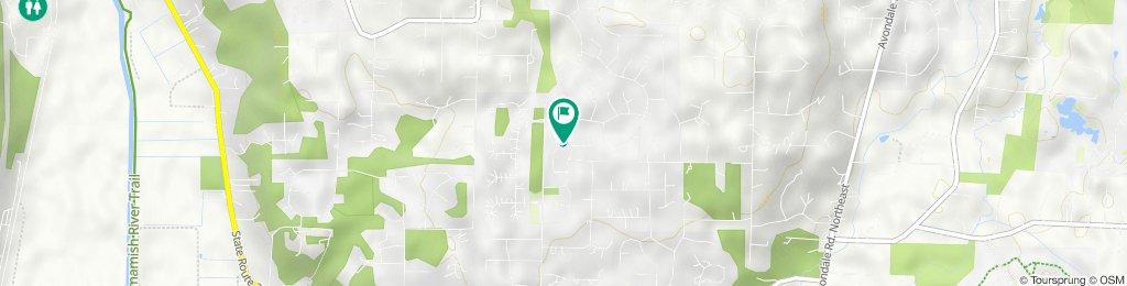 13702 173rd Pl NE, Redmond to 13708 173rd Pl NE, Redmond