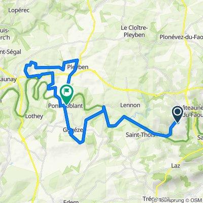 La Roche du Feu - Pont Coblant - 28064 - UtagawaVTT.com