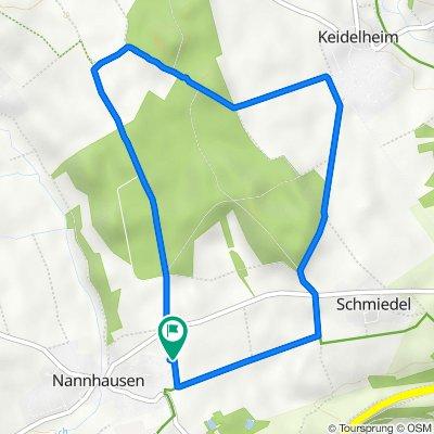 Auf der Norr 12, Nannhausen nach Auf der Norr 12, Nannhausen