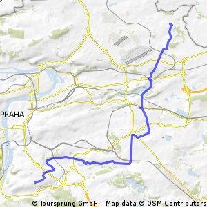 Vinor - Budejovicka - cesta do prace