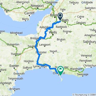 Bristol to Weymouth