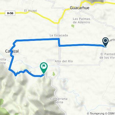 Avenida Puente Alta, Quinta de Tilcoco to Cruce H-630 (Malloa) - Corcolén - Cruce H-56 (Tunca), San Vicente