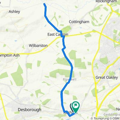 Midland Cottage 24, Rushton to Manor Road 3, Rushton