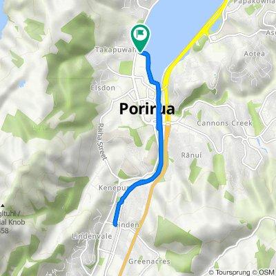 Wi-Neera Drive, Porirua City Centre to Wi-Neera Drive, Porirua City Centre