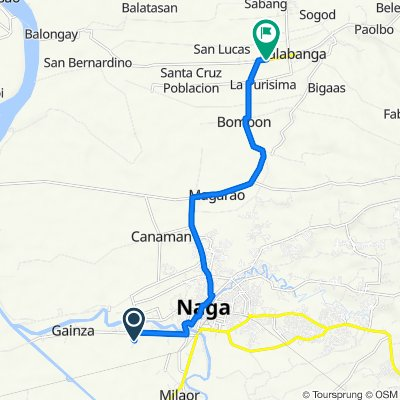 Restful ride in Calabanga