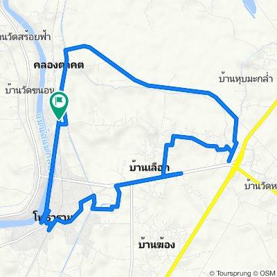 ทางหลวงชนบท รบ.3123, Tambon Khlong Takhot to ทางหลวงชนบท รบ.3123, Tambon Khlong Takhot
