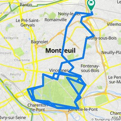 De 9bis Rue David Léder, Bondy à 3bis Rue David Léder, Bondy