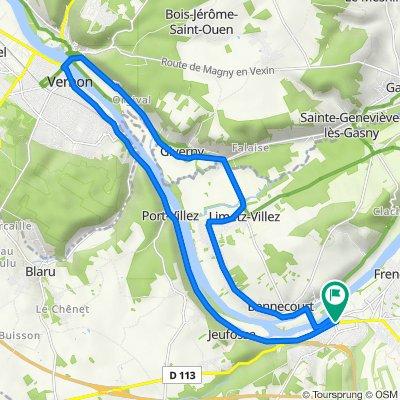 De 6 Impasse Michelet, Bonnières-sur-Seine à 6 Impasse Michelet, Bonnières-sur-Seine