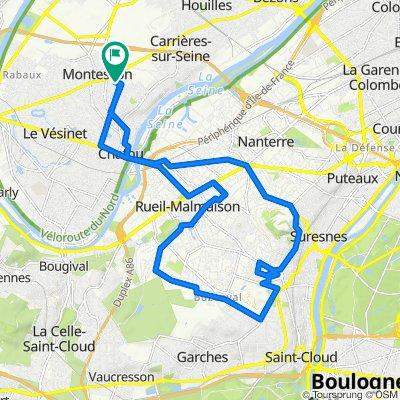 De 1–7 Avenue de l'Europe, Chatou à 5 Avenue de l'Europe, Chatou
