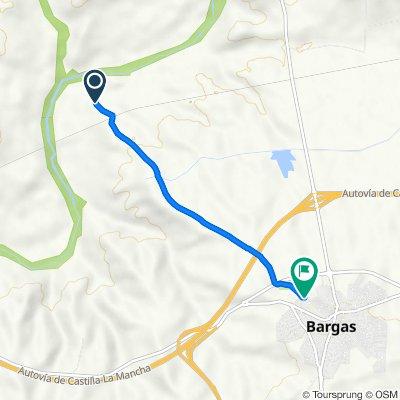 Ruta a Calle de la Arroyada, 87–89, Bargas