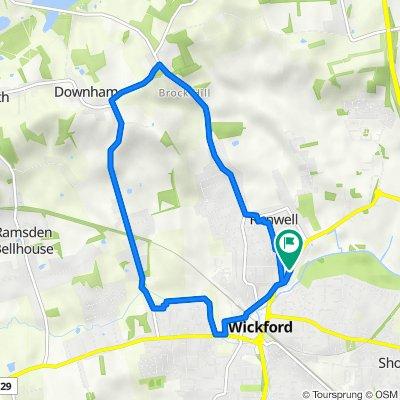 79 Runwell Road, Wickford to 79 Runwell Road, Wickford