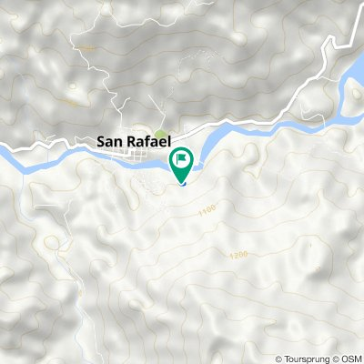De Carrera 26, San Rafael a Carrera 26, San Rafael