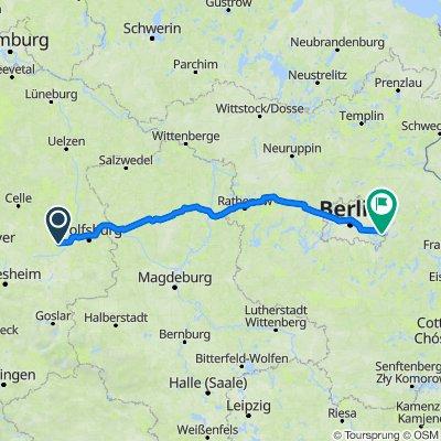 Höhe 8, Vordorf nach Kalkbergeweg 44, Berlin