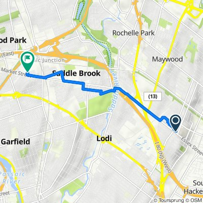 360 Essex St, Hackensack to 505 Market St, Elmwood Park