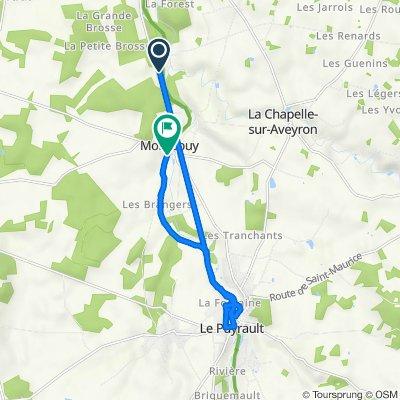 De Salleneuve, Montbouy à 17 Route de Bennes, Montbouy