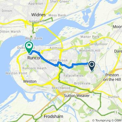 Runcorn east to main