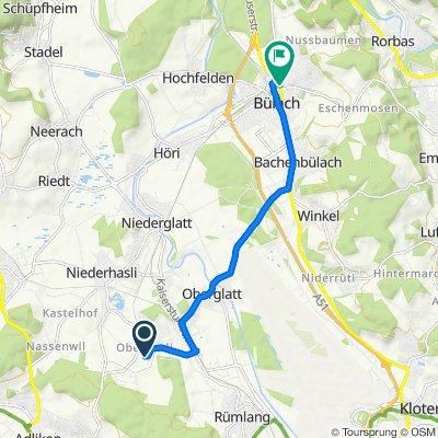 Widenacherstrasse 4, Oberhasli nach Schaffhauserstrasse 53, Bülach