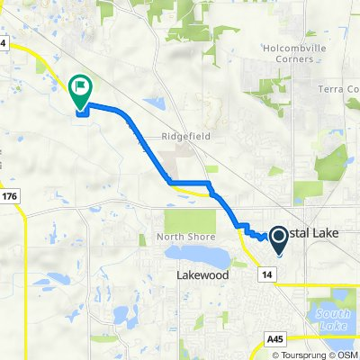 216–282 Wallace Ave, Crystal Lake to 3703 Doty Rd, Woodstock