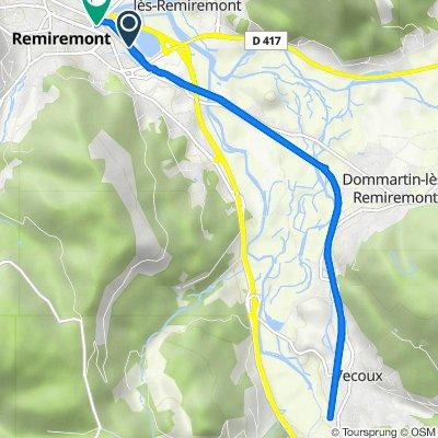 Itinéraire modéré en Remiremont