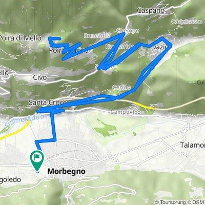Da Via Nazionale 93/A, Cosio Valtellino a Via Nazionale 93/A, Cosio Valtellino
