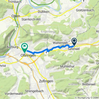 Güterstrasse 1A, Safenwil nach Baslerstrasse 29, Oftringen
