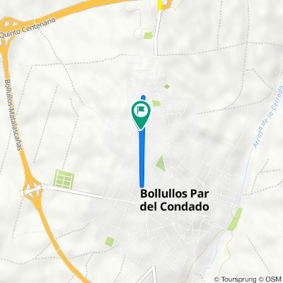 De Calle del Clavel, 41, Bollullos par del Condado a Calle del Clavel, 42, Bollullos par del Condado