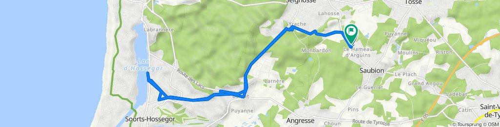 De Route de Seignosse 4, Saubion à Route de Seignosse 17, Saubion