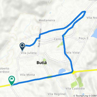De Rua Coronel Antônio Vicente de Carvalho Numero 1018 a BR-290 176