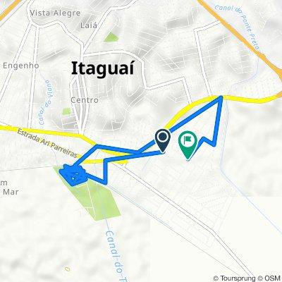 De Rua da Glória, 1–153, Itaguaí a Rua Argentina, 107–139, Itaguaí