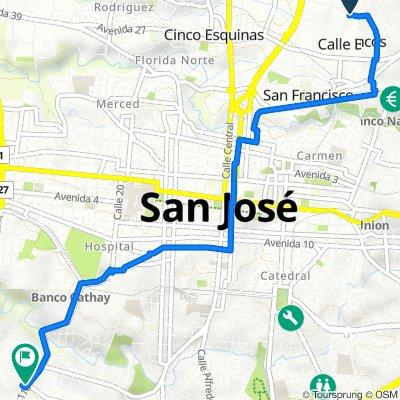 De Calle 27 33, Calle Blancos a Avenida 36 110, San José