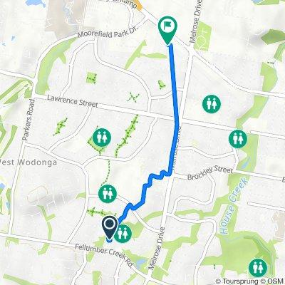 2 Hibbett Crescent, West Wodonga to 34 Roadshow Drive, West Wodonga