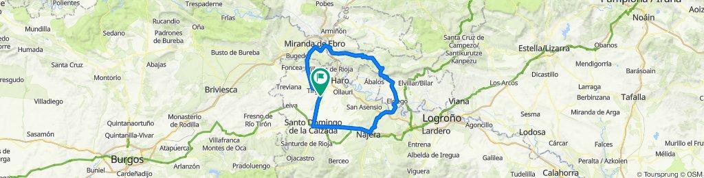 Camping- Najera- Pto Herrera- Miranda