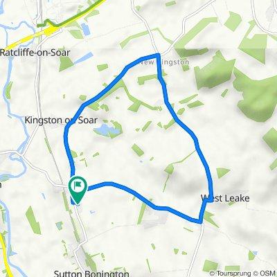 College Road 46, Sutton Bonington to College Road 46, Sutton Bonington