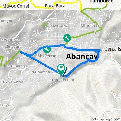 Avenida Circunvalación, Abancay to Avenida Circunvalación, Abancay