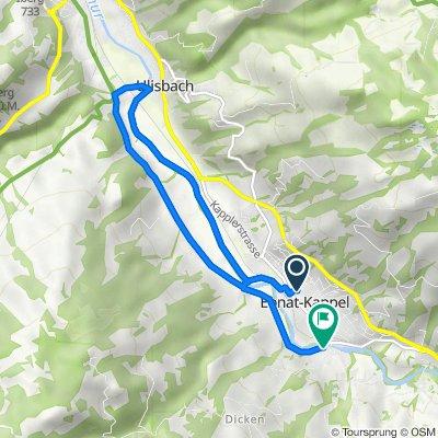 Sonneggstrasse 24, Ebnat-Kappel nach Thuraustrasse 34, Ebnat-Kappel