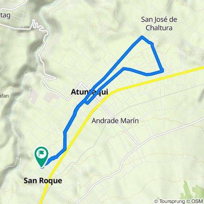 De 16 de agosto, Antonio Ante a Luis Andrade, Antonio Ante