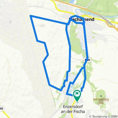 Julius-Raab-Gasse 19, Enzersdorf an der Fischa nach Leharweg, Enzersdorf an der Fischa