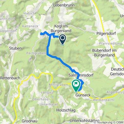 Unnamed Road nach Holzschlag 101