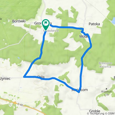 Gromadka 19,3 km