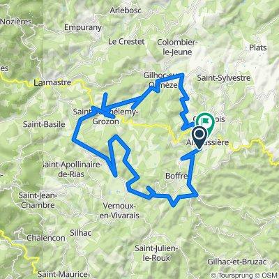Vernoux-en-Vivarais Cycling